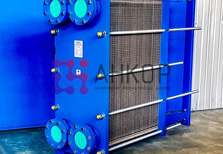 Охладитель воды для технологических целей